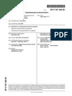 EP0767426B1 Verfahren zur Programmierung eines Gerätes