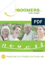 Catalogue Body Boomers 2014 - fitness de plein air
