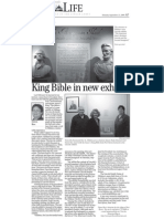 King Bible Exhibit Email