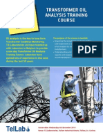 Transformer Oil Analysis Training course - MR.pdf
