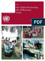 Delivering on the Global Partnership for Achieving the Millennium Development Goals