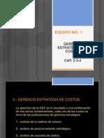 Equipo 1 - Gerencia Estrategica de Costos (Cap-2-3-4)