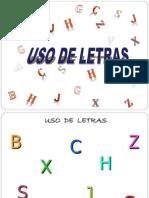 Usos de Letras - Copia