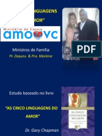 As Cinco Linguagens Do Amor - Pr. Zaqueu
