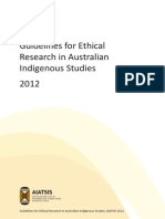 Guidlines for Ethical Research AIATSIS Australia