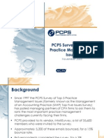 2005 PCPS Survey of Top5 Practice Management Issues