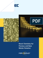 Novel Chemistry for Precious and Base Metals Flotation 1