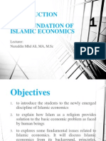 Class 1_introduction the Foundation of Islamic Economics
