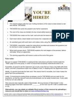 E1-L1 Apprentice Task Sheets