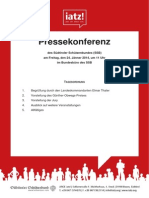 Pressemappe Günther-Obwegs-Preis (Deutsch)