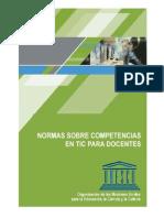 Normas UNESCO Sobre Competencias en TIC Para Docentes