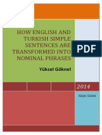 How English and Turkish Simple Sentences Are Transformed Into Nominal Phrases-signed