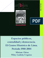 Espacios públicoscentralidad y democracia-Ludeña_Chion