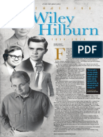 Remembering Wiley Hilburn 1938-2014