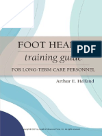 Foot Health Training Guide For Long-Term Care Personnel (Helfand excerpt)