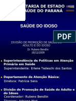 Saude Do Idoso BENDLIN Rubens