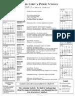 Approved 2013-2014 Calendar