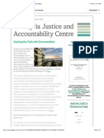 """""""Seeking the Truth With Documentation"""" - The SJAC Weekly Update"""