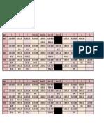 Eg Timetable 2014