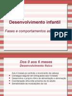 Power Point Desenvolvimento Infantil