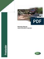 Workshop Manual Freelander  - Includes JF506E