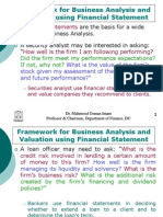Framework for Business Analysis