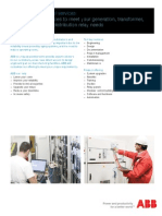 Protection and Control Services Brochure Rev B