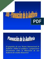 300 Planeación de auditoría