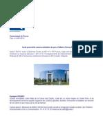20140124 - CP - Icade au parc d'affaires Roissy-Paris Nord II