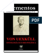 Elementos 46 Von Uexkull