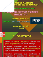 FUERZAMAGNETICAYCAMPOMAGNETICOFIC2011