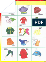 Clothes Pictures English Spanish