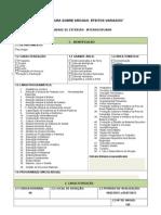 Formulário Ação de Extensão 2013 interdisciplinar postado no scribd