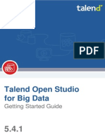 TalendOpenStudio BigData GettingStarted 5.4.1 En