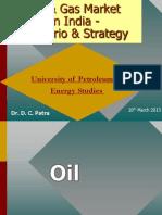 Oil & Gas Market Scenario in India