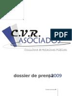 Dossier de Prensa de Cvr Asociados