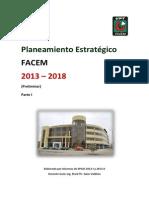 Plan Estrategico Preliminar 2013 2018 Facem