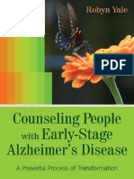 Counseling People with Early-Stage Alzheimer's Disease