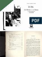 CARNEIRO DA CUNHA, Manuela - Os mortos e os outros (Introdução e Capítulos I e VIII)