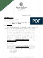 Christie Response to AB21 FOIA 1-23-14