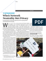 When Network Neutrality Met Privacy - Ohm