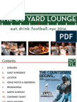 Larry g(EE) and his band are performing at The 50 Yard Lounge on Super Bowl, NY.