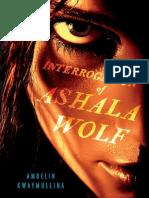 The Interrogation of Ashala Wolf Chapter Sampler