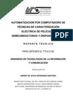 Reporte Técnico Ingenieria en TIC