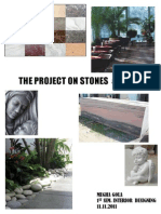 Project on Stones & Tiles