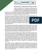 PARTICIPACIÓN DE LA REGIÓN LIMA EN LA GENERACIÓN DE LA RIQUEZA DEL PERÚ