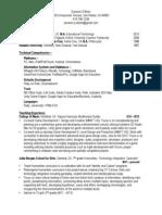 eamonn obrien teaching resume
