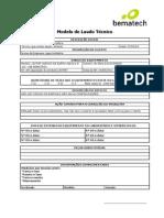 Modelo de Laudo Tecnico - 11497