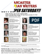 2014 l Cw Super Saturday Flyer