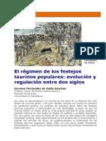 El régimen de los festejos taurinos populares evolución y regulación..pdf